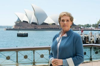 Dame Julie Andrews in Sydney to promote her directing My Fair Lady at the Sydney Opera House on November 10, 2015 in Sydney, Australia.