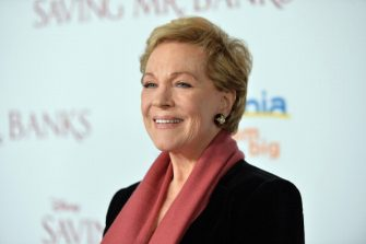 """BURBANK, CA - DECEMBER 09:  Actress Julie Andrews attends the U.S. Premiere Of Disney's """"Saving Mr. Banks"""" at Walt Disney Studios on December 9, 2013 in Burbank, California.  (Photo by Alberto E. Rodriguez/WireImage)"""