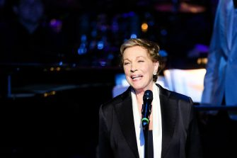 BEVERLY HILLS, CA - APRIL 01:  Actress Julie Andrews speaks at Mancini Delivered - A Musical Tribute To Ginny And Henry Mancini at Wallis Annenberg Center for the Performing Arts on April 1, 2017 in Beverly Hills, California.  (Photo by Rich Fury/Getty Images)