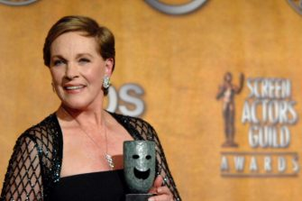 Julie Andrews, recipient of the Screen Actors Guild Life Achievement Award, 28th January 2007. 12867_LC_0260.jpg (Photo by L. Cohen/WireImage)