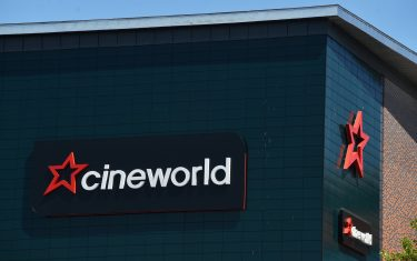 STOKE-ON-TRENT, ENGLAND - JUNE 23: A general view of  Cineworld  in Hanley on June 23, 2020 in Stoke-on-Trent, England. (Photo by Nathan Stirk/Getty Images)