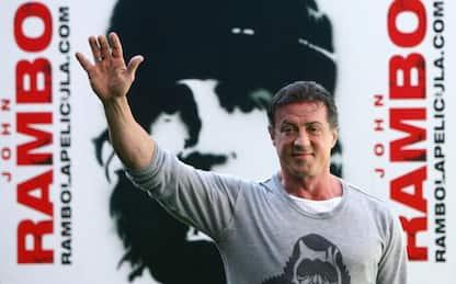 Samaritan, Sylvester Stallone sul set: l'attore ieri e oggi