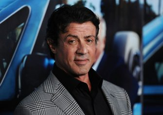 """HOLLYWOOD, CA - MARCH 22:  Actor Sylvester Stallone arrives at the premiere of the HBO documentary """"His Way"""" at Paramount Studios on March 22, 2011 in Hollywood, California.  (Photo by Frazer Harrison/Getty Images)"""