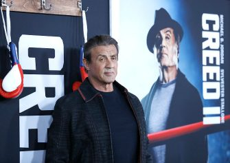"""NEW YORK, NEW YORK - NOVEMBER 14: Sylvester Stallone attends """"Creed II"""" New York Premiere at AMC Loews Lincoln Square on November 14, 2018 in New York City. (Photo by John Lamparski/Getty Images)"""
