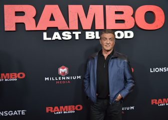 """NEW YORK, NEW YORK - SEPTEMBER 18: Sylvester Stallone attends the """"Rambo: Last Blood"""" Screening & Fan Event at AMC Lincoln Square Theater on September 18, 2019 in New York City. (Photo by Theo Wargo/Getty Images)"""