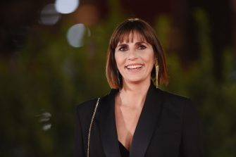 """ROME, ITALY - OCTOBER 21:  Director Elisa Amoruso attends the red carpet of the movie """"Maledetta Primavera""""  during the 15th Rome Film Festival on October 21, 2020 in Rome, Italy. (Photo by Stefania M. D'Alessandro/Getty Images for RFF)"""