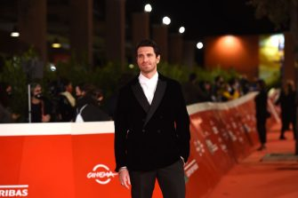 """ROME, ITALY - OCTOBER 21:  Giampaolo Morelli attends the red carpet of the movie """"Maledetta Primavera""""  during the 15th Rome Film Festival on October 21, 2020 in Rome, Italy. (Photo by Stefania M. D'Alessandro/Getty Images for RFF)"""