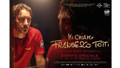 Mi chiamo Francesco Totti, il capitano fa gol anche al box office