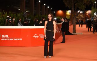 """ROME, ITALY - OCTOBER 23: Vanessa Scalera attends the red carpet of the movie """"Romulus""""  during the 15th Rome Film Festival on October 23, 2020 in Rome, Italy. (Photo by Stefania M. D'Alessandro/Getty Images for RFF)"""