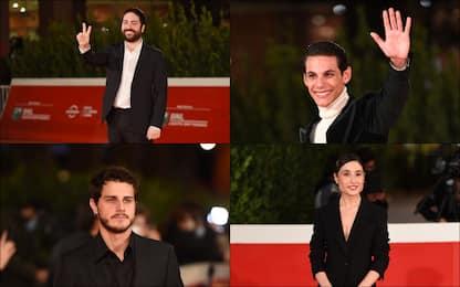 """Festa del Cinema di Roma: il red carpet di """"Romulus"""" di Matteo Rovere"""
