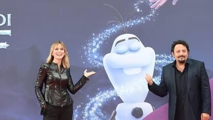 Festa del Cinema di Roma, il red carpet di La Storia di Olaf