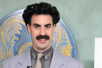 "Sacha Baron Cohen racconta Borat:""Ho usato il giubotto antiproiettile"""