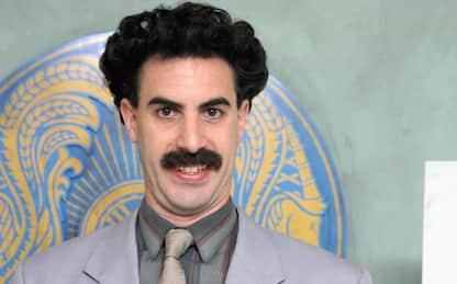 Sacha Baron Cohen: l'attore di Borat ieri e oggi