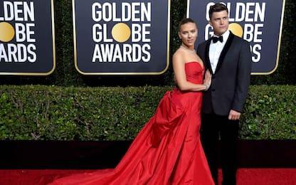 Scarlett Johansson e Colin Jost, le foto della coppia