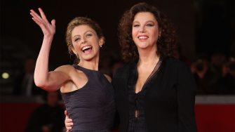 """ROME - OCTOBER 19:  Actresses Stefania Sandrelli (R) and Amanda Sandrelli attend the """"Christine, Cristina"""" Premiere during day 5 of the 4th Rome International Film Festival held at the Auditorium Parco della Musica on October 19, 2009 in Rome, Italy.  (Photo by Venturelli/WireImage)"""