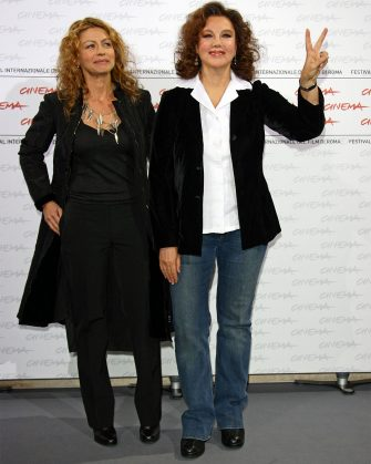 ROME - OCTOBER 19:  (L-R) Actress Amanda Sandrelli and director Stefania Sandrelli attend the 'Christine, Cristina' Photocall during day 5 of the 4th Rome International Film Festival held at the Auditorium Parco della Musica on October 19, 2009 in Rome, Italy.  (Photo by Vittorio Zunino Celotto/Getty Images)