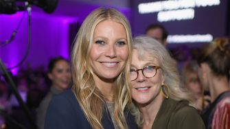 NEW YORK, NY - OCTOBER 16:  Gwyneth Paltrow (L) and Blythe Danner attend the 11th Annual Golden Heart Awards benefiting God's Love We Deliver on October 16, 2017 in New York City.  (Photo by Dimitrios Kambouris/Getty Images for Michael Kors)