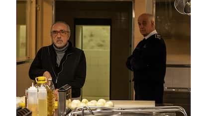 Toni Servillo e Silvio Orlando nella  foto del film di Di Costanzo