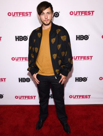 """HOLLYWOOD, CALIFORNIA - JULY 23: Alex Blue Davis arrives at the 2019 Outfest Los Angeles LGBTQ Film Festival World Premiere of """"HAM: A Musical Memoir"""" at the TCL Chinese Theatre on July 23, 2019 in Hollywood, California. (Photo by Amanda Edwards/Getty Images)"""
