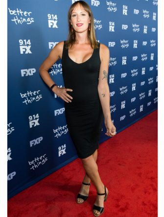 """WEST HOLLYWOOD, CA - SEPTEMBER 06:  Actress Jen Richards arrives for the Premiere Of FX's """"Better Things"""" Season 2 at Pacific Design Center on September 6, 2017 in West Hollywood, California.  (Photo by Greg Doherty/Getty Images)"""