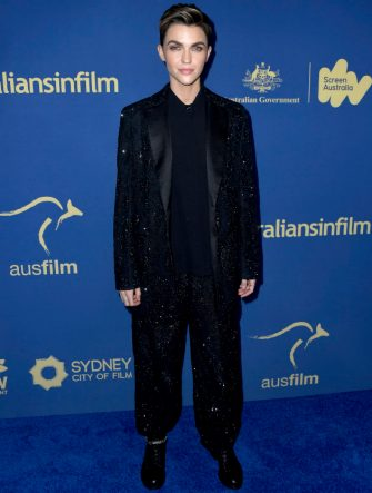 LOS ANGELES, CALIFORNIA - OCTOBER 23: Ruby Rose attends the 2019 Australians In Film Awards at InterContinental Los Angeles Century City on October 23, 2019 in Los Angeles, California. (Photo by Frazer Harrison/Getty Images)