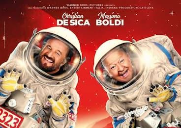 """""""In vacanza su Marte"""": arriva il nuovo film con Boldi e De Sica"""