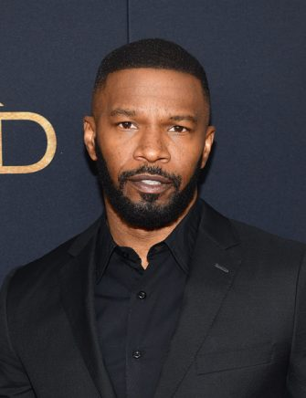 """NEW YORK, NEW YORK - NOVEMBER 11: Jamie Foxx attends the """"Robin Hood"""" New York screening at AMC Lincoln Square Theater on November 11, 2018 in New York City. (Photo by Noam Galai/Getty Images)"""