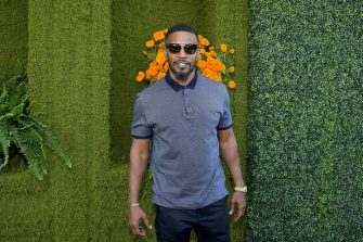 LOS ANGELES, CA - OCTOBER 14:  Jamie Foxx at the Eighth Annual Veuve Clicquot Polo Classic on October 14, 2017 in Los Angeles, California.  (Photo by Charley Gallay/Getty Images for Veuve Clicquot)