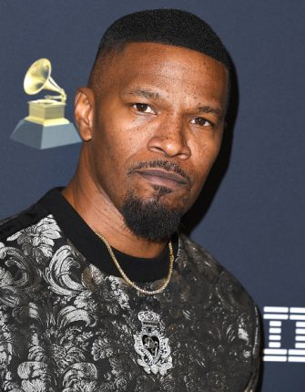 """BEVERLY HILLS, CALIFORNIA - JANUARY 25: Jamie Foxx arrives at the Pre-GRAMMY Gala and GRAMMY Salute to Industry Icons Honoring Sean """"Diddy"""" Combs at The Beverly Hilton Hotel on January 25, 2020 in Beverly Hills, California. (Photo by Steve Granitz/WireImage)"""