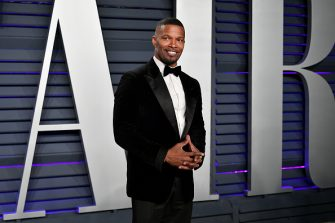 BEVERLY HILLS, CA - FEBRUARY 24:  Jamie Foxx attends the 2019 Vanity Fair Oscar Party hosted by Radhika Jones at Wallis Annenberg Center for the Performing Arts on February 24, 2019 in Beverly Hills, California.  (Photo by Dia Dipasupil/Getty Images)