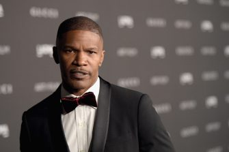 LOS ANGELES, CA - NOVEMBER 01:  Actor Jamie Foxx attends the 2014 LACMA Art + Film Gala honoring Barbara Kruger and Quentin Tarantino presented by Gucci at LACMA on November 1, 2014 in Los Angeles, California.  (Photo by Jason Kempin/Getty Images for LACMA)