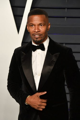 BEVERLY HILLS, CALIFORNIA - FEBRUARY 24: Jamie Foxx attends the 2019 Vanity Fair Oscar Party hosted by Radhika Jones at Wallis Annenberg Center for the Performing Arts on February 24, 2019 in Beverly Hills, California. (Photo by George Pimentel/Getty Images)