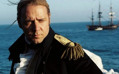 Russell Crowe difende su Twitter Master and Commander