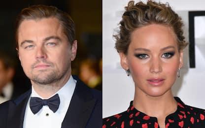 Don't Look Up, nuove foto di Leonardo Di Caprio e Jennifer Lawrence