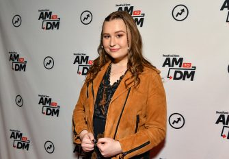"""NEW YORK, NEW YORK - NOVEMBER 08: (EXCLUSIVE COVERAGE) Actress Julia Lester visits BuzzFeed's """"AM To DM"""" to discuss Disney+ web television series """"High School Musical: The Musical: The Series"""" on November 08, 2019 in New York City. (Photo by Slaven Vlasic/Getty Images)"""