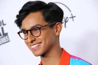 BURBANK, CALIFORNIA - NOVEMBER 01: Actor Frankie Rodriguez attends the premiere of Disney+'s 'High School Musical: The Musical: The Series' at Walt Disney Studio Lot on November 01, 2019 in Burbank, California. (Photo by JC Olivera/WireImage)