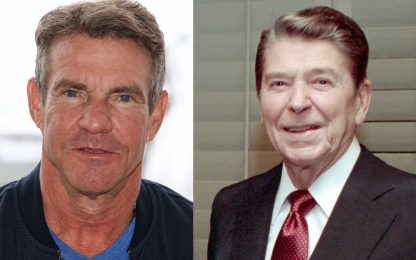 "Dennis Quaid: ""Onorato di interpretare Ronald Reagan nel biopic"""