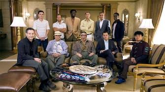 JEMISON,AFFLECK,REINER,CAAN,MAC,GOULD,PITT,CLOONEY,DAMON,CHEADLE,QIN, OCEAN'S THIRTEEN, 2007