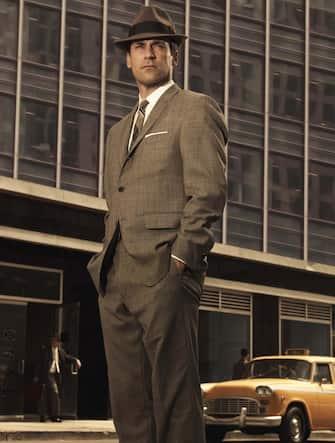 "Jon Hamm stars as Don Draper in season 3 of ""Mad Men."" (2009) Photo by: AMC"