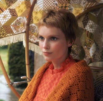 American actress Mia Farrow, circa 1967. (Photo by Graham Stark/Hulton Archive/Getty Images)