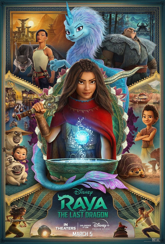 Raya e l'ultimo drago, i nuovi poster del film Disney