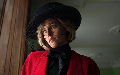 Spencer, la trasformazione di Kristen Stewart in Lady Diana: FOTO