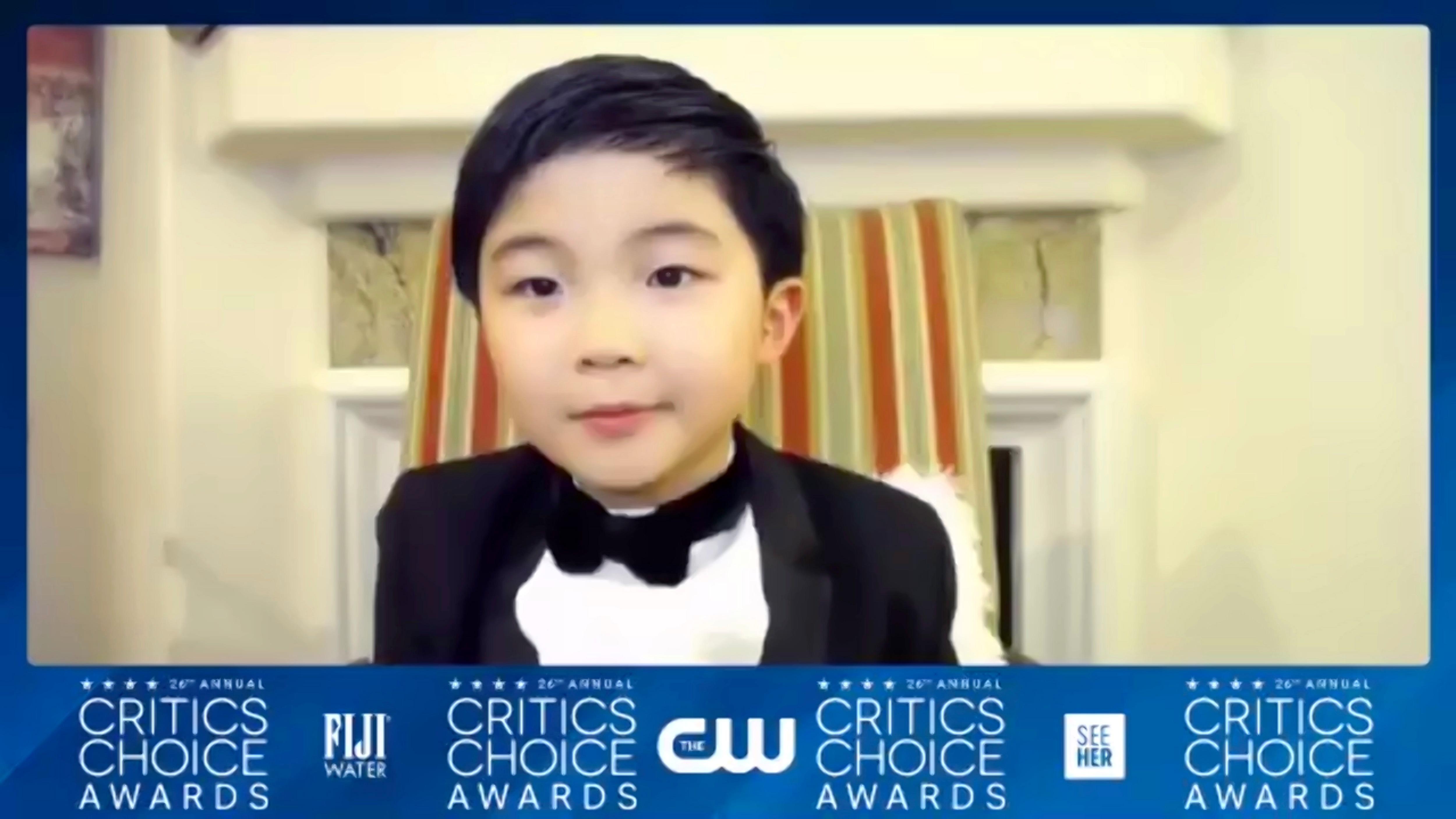 'E' un sogno?', il commovente discorso del piccolo Alan Kim. VIDEO