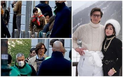 """""""House of Gucci"""", a Milano si gira il film con Lady Gaga. FOTO"""