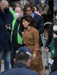 Lady Gaga a Milano per girare il film Gucci. VIDEO