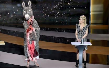 Premi Cesar, Corinne Masiero nuda contro abbandono della cultura. FOTO