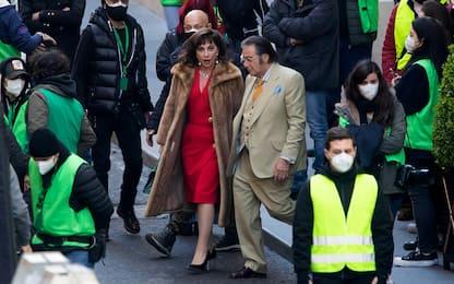 House of Gucci: Lady Gaga e Al Pacino sul set a Roma