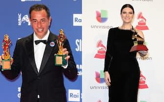 Matteo Garrone e Laura Pausini
