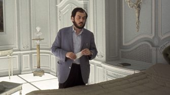 Film director and screenwriter Stanley Kubrick (1928 - 1999) on the set of '2001: A Space Odyssey' at the MGM British Studios in Borehamwood, Hertfordshire, 1966. (Photo by Keith Hamshere/Getty Images)