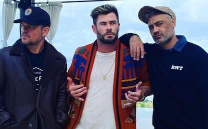 Thor, Chris Hemsworth pubblica uno scatto dal set